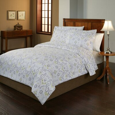 Meadow Flannel Duvet Cover Collection