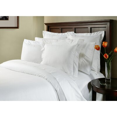 Dobby 3 Piece Duvet Cover Set Size: King/California King, Color: White