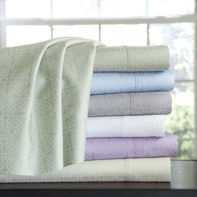 Pointehaven 300 Thread Count Cotton Sheet Set (Set of 4) - Size: Twin XL Color: Blue