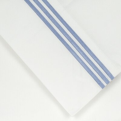 300 Thread Count Sheet Set Size: California King, Color: Blue