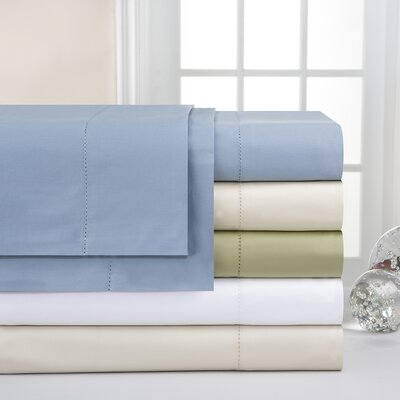 600 Thread Count Supima Cotton Sheet Set Color: Pewter, Size: Queen