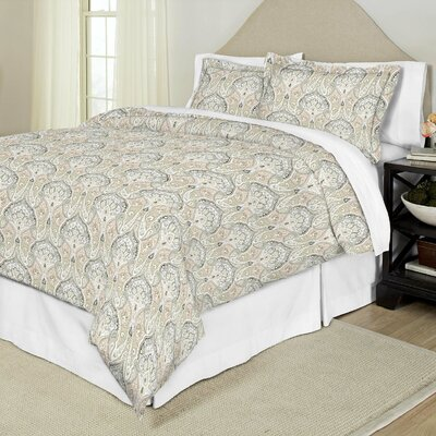 Duvet Cover Set Color: Cedar, Size: Full / Queen