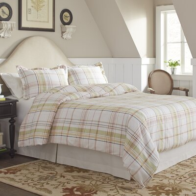 Tristan Flannel Duvet Cover Set Size: King/California King