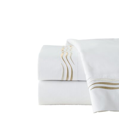 300 Thread Count 100% Cotton Sheet Set Size: Cal King, Color: Ivory