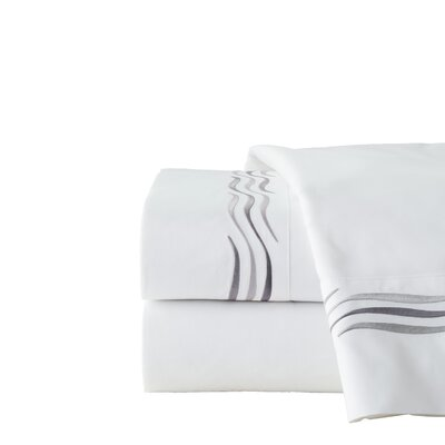 300 Thread Count 100% Cotton Sheet Set Size: Cal King, Color: Grey