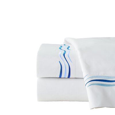 300 Thread Count 100% Cotton Sheet Set Size: Queen, Color: Royal Blue
