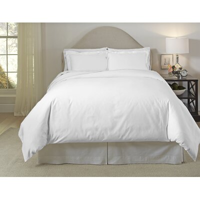 Duvet Set Color: White, Size: Twin