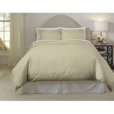 Duvet Set Color: Natural, Size: Full/Queen