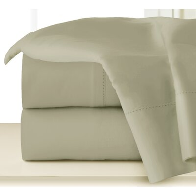 410 Thread Long Staple Count Cotton Sheet Set Color: Elm, Size: Queen