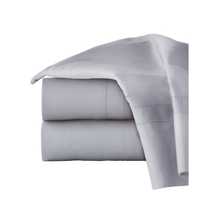 620 Thread Long Staple Count 100% Cotton Sheet Set Color: Gray, Size: Queen