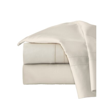 620 Thread Long Staple Count 100% Cotton Sheet Set Size: Queen, Color: Bone