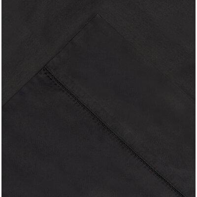 410 Thread Count Long Staple Pima Cotton Pillow Case Size: Standard, Color: Medium Gray