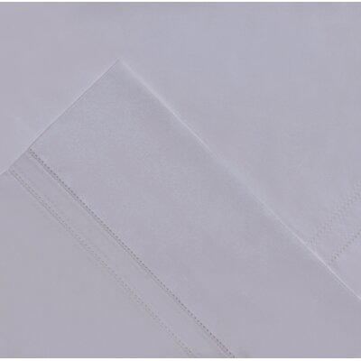 620 Thread Count Long Staple Cotton Pillow Case Color: Gray, Size: Standard