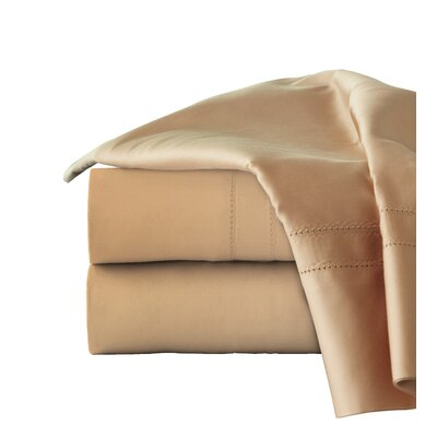 620 Thread Long Staple Count 100% Cotton Sheet Set Size: Queen, Color: Iced Coffee