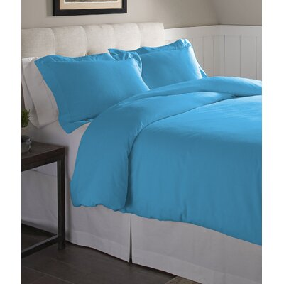 Duvet Set Size: Full/Queen, Color: Aqua