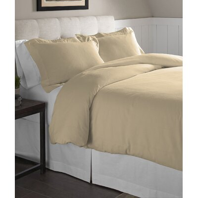Duvet Set Size: King/California King, Color: Marzipan