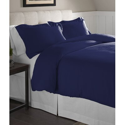Duvet Set Size: King/California King, Color: Navy