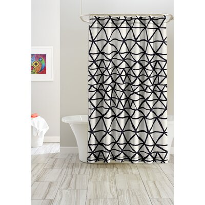 Bridge Cotton Shower Curtain