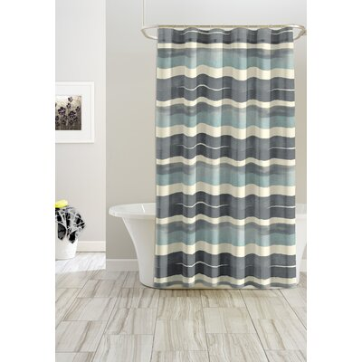 Stripe Cotton Shower Curtain