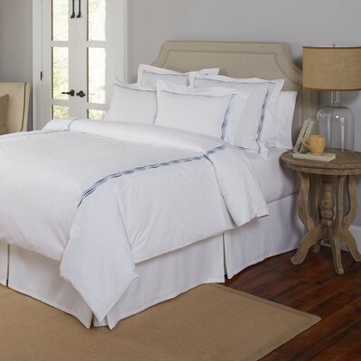 3 Piece Duvet Set Size: King/California King, Color: Blue