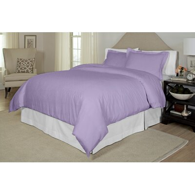Duvet Cover Set Size: King / Cal King, Color: Lavender