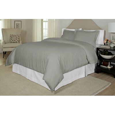 Duvet Cover Set Size: Full / Queen, Color: Grey