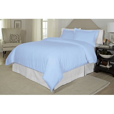 Duvet Cover Set Color: White, Size: Twin / Twin XL