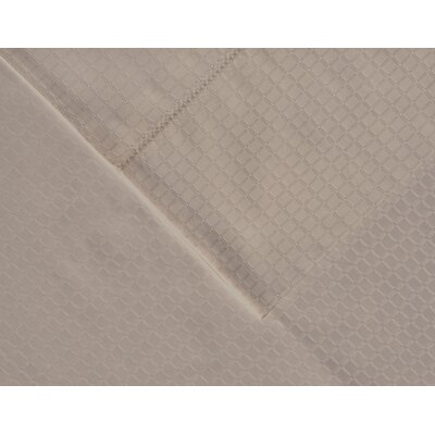 Dobby 525 Thread Count Pima Cotton Pillowcases Size: King, Color: Silver Gray