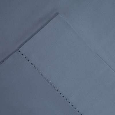 Luxury Pima Pillowcase Size: Standard, Color: Dusty Blue