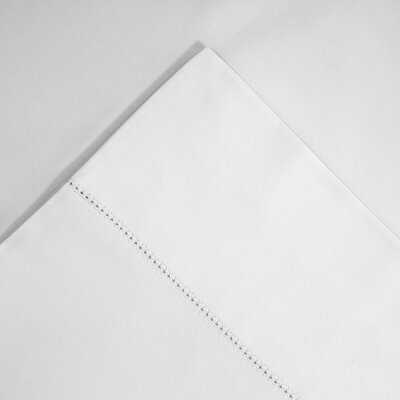 Luxury Pima Pillowcase Size: King, Color: White