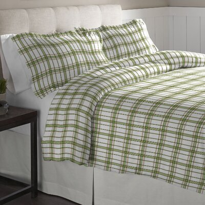 Duvet Set Color: Sage, Size: King/California King