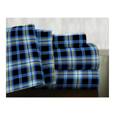 Ashby 100% Cotton Flannel Sheet Set Size: Twin XL