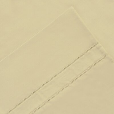 6 Piece 620 Thread Count 100% Long Staple Cotton Sheet Set Size: King, Color: Linen