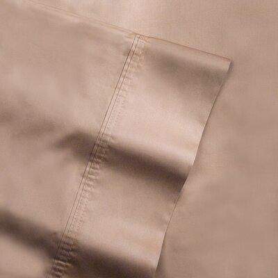 Pointhaven Pillowcase Size: Standard, Color: Espresso