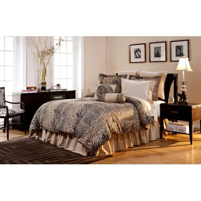 King Luxury Bedding Sets on Luxury 12 Piece Bedding Set In Urban Safari   Urbansafari 12pc Set