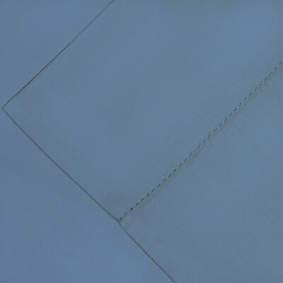 600 Thread Count Supima Cotton Sheet Set Color: Dusty Blue, Size: Queen