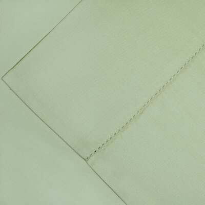 600 Thread Count Supima Cotton Sheet Set Color: Sage, Size: King