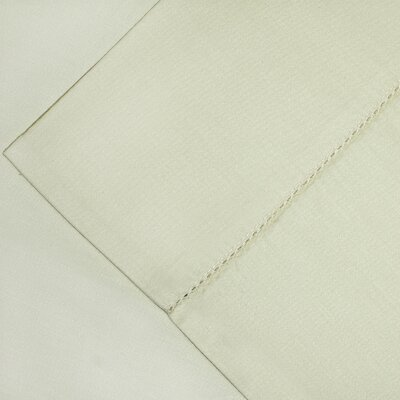 600 Thread Count Supima Cotton Sheet Set Color: Bone, Size: Queen