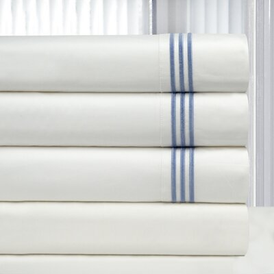 3 Piece Duvet Cover Set Size: Full / Queen, Color: Blue
