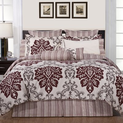 2 Piece Reversible Duvet Cover Set Size: Twin