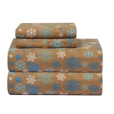 Pointehaven Heavy Weight Printed Flannel Sheet Set - Size: Queen at Sears.com