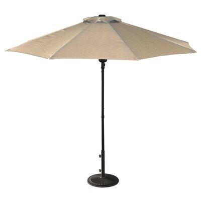 9' Market Umbrella Fabric: Champagne NU5419CH