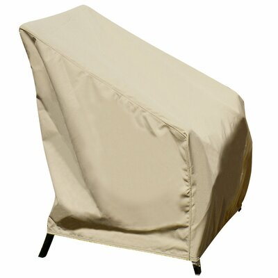 High Back Chair Winter Cover in Beige