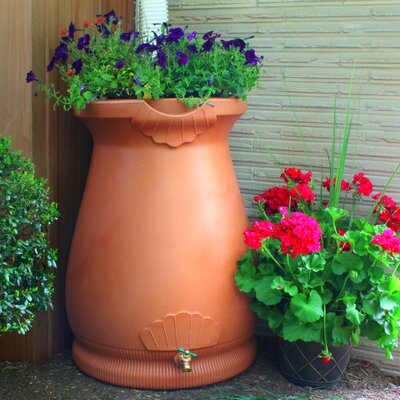 Good Ideas Rain Wizard 65 Gallon Rain Barrel - Color: Terra Cotta at Sears.com