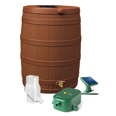 Good Ideas Rain Wizard 50 Gallon Rain Barrel Set - Color: Terra Cotta at Sears.com