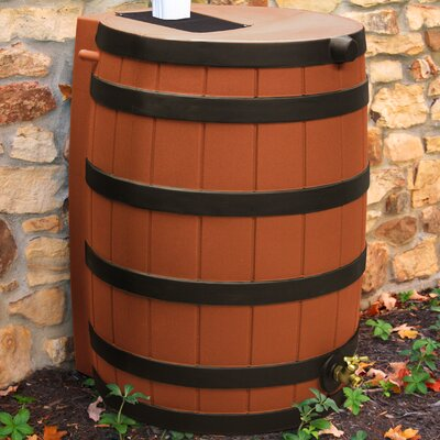 Good Ideas Rain Wizard 40 Gallon Rain Barrel with Darkened Ribs - Color: Terra Cotta at Sears.com