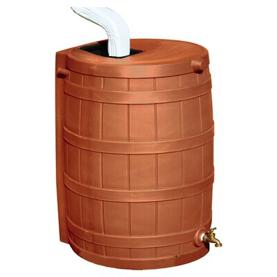 Good Ideas Rain Wizard 50 Gallon Rain Barrel - Color: Terra Cotta at Sears.com