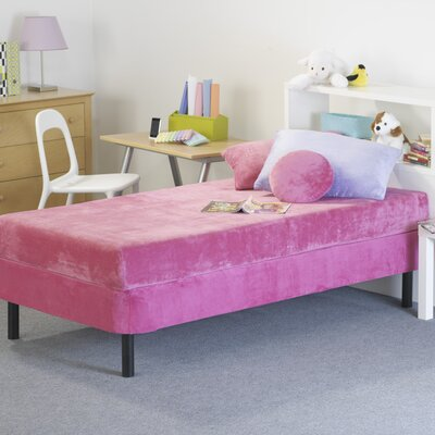 Memory Foam Kidz Kids Memory Foam Mattress with Water Proof Cover in Pink - Size: Full at Sears.com