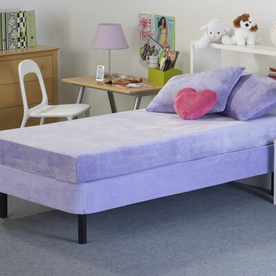 Memory Foam Kidz Kids Memory Foam Mattress with Water Proof Cover in Lavender - Size: Full at Sears.com
