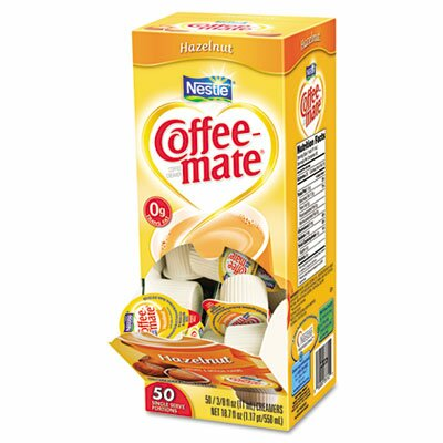 CoffeeMate Hazelnut Creamer, 50/Box at Sears.com